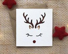 hand painted card, christmas cards, christmas card, reindeer card, handmade chris … Source by hornschoettler Homemade Christmas Cards, Christmas Cards To Make, Xmas Cards, Diy Cards, Homemade Cards, Handmade Christmas, Christmas Crafts, Tarjetas Diy, Paint Cards