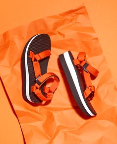 Teva Universal Flatform Sandals in Orange                                                                                                                                                                                 More