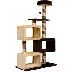 PawHut Cat Cats Tree Kitten Scratching Scratch Scratcher Post Toy Climbing Sisal 130cm(H) *** You can find more details by visiting the image link. #CatScratchersandFurniture