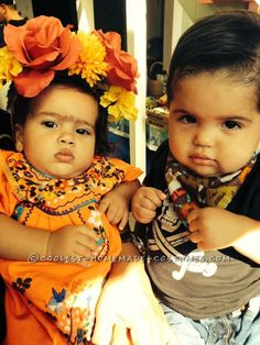 Adorable DIY Baby Frida Kahlo Costume...