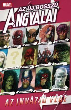 Bosszú Angyalai-kötetek : Az Új Bosszú Angyalai: Az Invázió vége