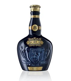 Chivas Royal Salute 21 Year Old. Fragrant with aromas of raisins, heather and walnuts. Rich palate, and smooth finish with a haunting smokiness.