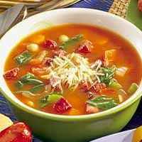 There's nothing like a piping hot bowl of soup on a snowy winter day. A pot of this Minestrone will perfume your home and entice the brave sledders and snowman makers in from the bitter cold. Italian Minestrone Soup Recipe, Italian Soup, Slow Cooker Recipes, Crockpot Recipes, Easy Soup Recipes, Healthy Recipes, Winter Soups, Healthy Soup, Healthy Eating