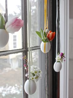 DIY Hanging Easter Posies