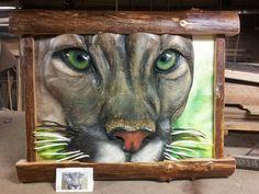 Douglas fir/ cougar