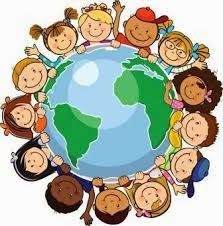 Check out the free 52 week family home education curriculum Here We Are Together Around the World. In this free year long curriculum, your family wi