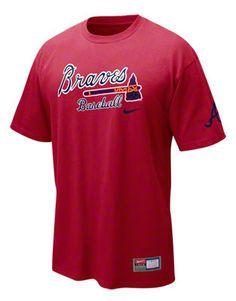 Atlanta Braves Nike Short Sleeve Practice T-Shirt #braves #mlb #baseball
