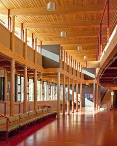 First Unitarian Society Meeting House Addition by The Kubala Washatko Architects, Inc.