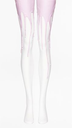 URBCLOTHING Pastel Rosé Melting Tights $55.00  Size M