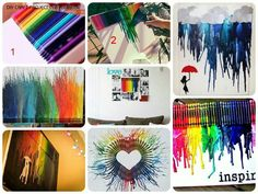 Different crayon ideas