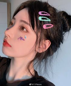 Pony Makeup, Instagram Profile Picture Ideas, Kawaii Hairstyles, Uzzlang Girl, Short Hair With Layers, Cute Korean Girl, China Girl, Aesthetic Hair, Girls World