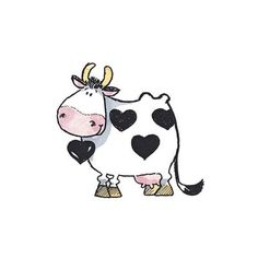 Penny Black, Inc. I love you Moo and Moo each day