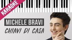 Michele Bravi   Chiavi Di Casa   Piano Karaoke con Testo