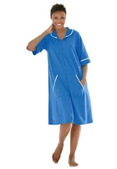Dreams & Co Women's Plus Size Hooded French Terry Short Robe Cobalt Blue,M DREAMS http://www.amazon.com/dp/B005GQ1HAU/ref=cm_sw_r_pi_dp_.3lkub12TPWFS