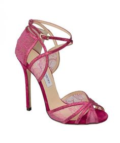 Spring 2013 shoe trend: lace heels.