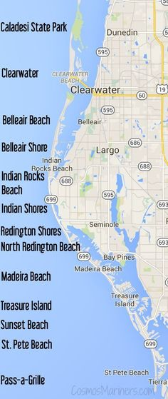 A First Timer's Guide to St. Pete Beach and Clearwater, Florida: Where to Visit, Eat, Shop, and Sleep | http://CosmosMariners.com