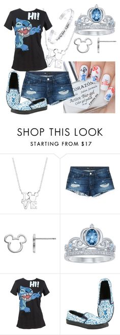 """Disney lilo and stitch"" by loveanrisonohara ❤ liked on Polyvore featuring Disney and 3x1"