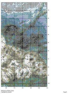 Patrones punto de cruz (2ª parte) (pág. 5)   Aprender manualidades es facilisimo.com