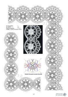 RAIZAME DO ENCAIXE GALEGO - Elena Corvini - Picasa Web Albums Bobbin Lace Patterns, Parchment Craft, Simple Art, Easy Art, Pattern Books, Tatting, Free Pattern, Diy And Crafts, Arizona