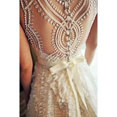 Romantic and old fashioned Lace wedding dresses ❤ liked on Polyvore featuring dresses, wedding dresses, backgrounds and wedding