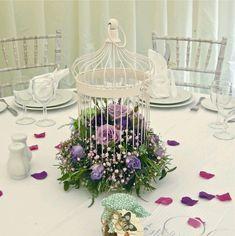 centros de mesa con jaulas para boda - Buscar con Google