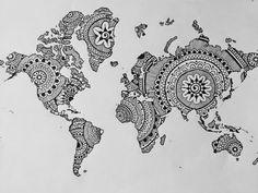 The Sofia Diaries: Decoração| Mapa