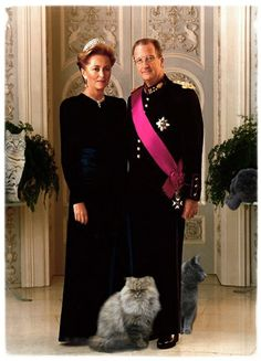 HM Paola & Albert II,  from Belgium