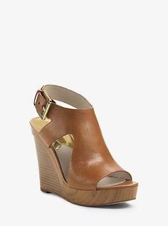 Josephine Leather Wedge