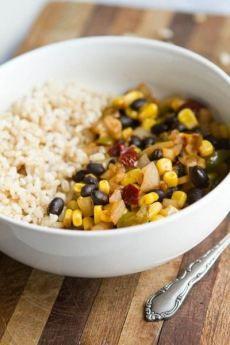 Recipe: Chipotle Black Bean, Corn and Rice Bowl - Naturally Ella