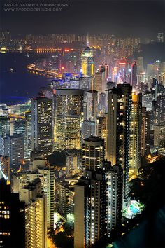 Hong Kong -- pictures don't do it justice. It's breathtaking.