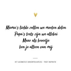 ☆ The Owl & # s Nest ☆ (@ hetuilennestjegeboortkaarten) Baby On The Way, Second Baby, Baby Kind, Birth Quotes, Newborn Quotes, Baby Love Quotes, Mom Quotes, Baby Number 2, Baby Zimmer