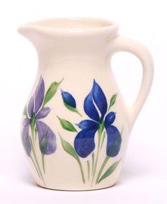 Posie Ceramic Pitcher - Field Of Iris