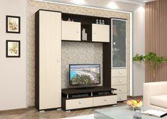 Стенка для гостиной Ника (дуб ферраре/клен) - функциональность без ущерба дизайну. Легкая и компактная, стенка Ника позволяет не только сохранить пространство, но и улучшить интерьер необычным, черно-белым сочетанием цветов. К вашим услугам объемный шкаф для одежды, закрытая полупрозрачная витрина, восемь ящиков, а так же место под телевизор. Стенка Ника - это идеальное решение для небольшой спальни или гостиной. Если вы цените комфорт и стиль, стенка Ника - Ваш выбор.