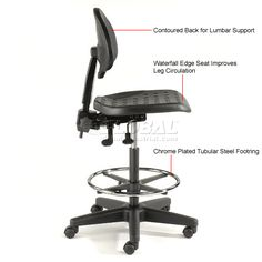 Inspirational 5 Way Adjustable Ergonomic Stool