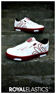 ac031798 Hydra Red Kicks $85 on royalelastics.com sneakers footwear fashion kicks  #leather #sneaks