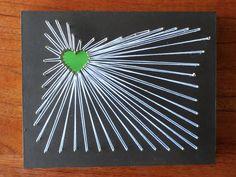 i love portland string art.