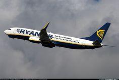 Ryanair Boeing 737-8AS (EI-DLM) Frankfurt - Hahn (HHN) - August 15, 2011.  A sideways dig at Lufthansa, this time.