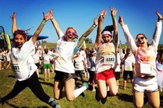 11 Colorful Photos from Color Run New Orleans