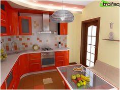 Γωνία κουζίνας - Top 50 φωτογραφίες του εσωτερικού με γωνιά κουζίνας