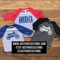 Quad Bike Silhouette Baby Boy Newborn Short Sleeve Tee Shirt 6-24 Month Cotton Tops
