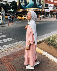 Hijabi summer outfits