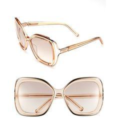 8a2aca27ff07 Chloé 56mm Sunglasses  396 Chloe Glasses