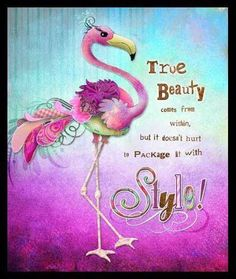 original flamingo art by haleyart Flamingo Decor, Pink Flamingos, Flamingo Painting, Photo Images, Flamboyant, Pink Bird, True Beauty, Bird Feathers, Birthday Wishes