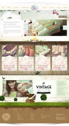 Diseño Web Site FitLove by John Alex Gil Mazo, via Behance