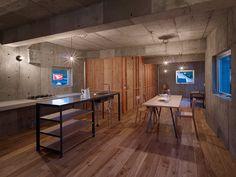 """Бетонный дом в Японии 10   Блог """"Частная архитектура"""""""