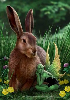 ✯ Hare and Sprite .. By *Ironshod*✯