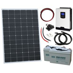 Off Grid Inverter Off Grid Inverter, Solar Inverter, Off Grid System, Trailer Diy, Off Grid Solar, Off The Grid, Solar Panels, Camper, Sun Panels