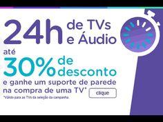 Ofertas Especiais em Smart TVs, Áudio e Vídeo com Até 30% off