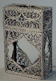 Скань (филигрань) – редкая техника тончайших узоров - Ярмарка Мастеров - ручная работа, handmade