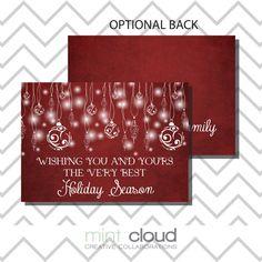 black friday sale diy printable holiday card pdf by mintcloudllc